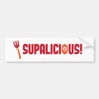SUPALICIOUS! Bumper Sticker