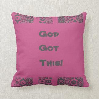 Supeb Woman God Got This Cushion
