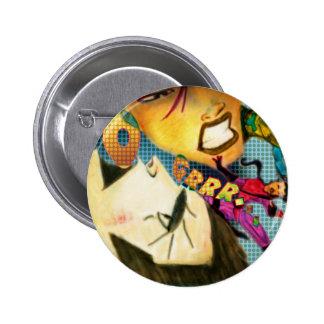 Super 6 Cm Round Badge