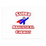 Super Analytical Chemist Postcards