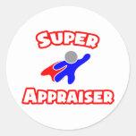 Super Appraiser Round Stickers