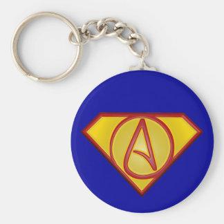 Super atheist 3D keychain