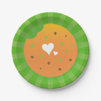 Super awesome party love design paper plate