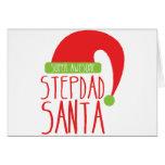 Super AWESOME Stepdad santa Greeting Card