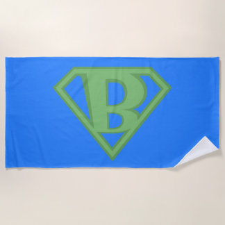 Super B Beach Towel
