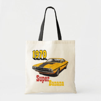 Super Banana Budget Tote Bag