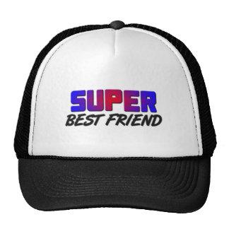 Super Best Friend Trucker Hats