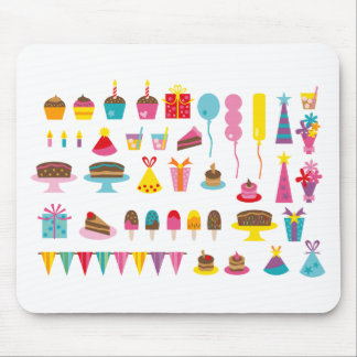 Super Birthday All Mouse Pad