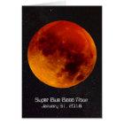 Super Blue Blood Moon 2018 Card