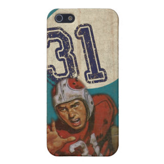 Super Bowl iPhone Skin With Cool Vintage Print iPhone 5/5S Case
