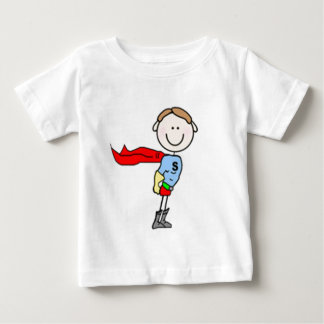 Super Boy Stick Figure Baby T-Shirt