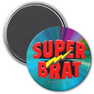 Super Brat 7.5 Cm Round Magnet