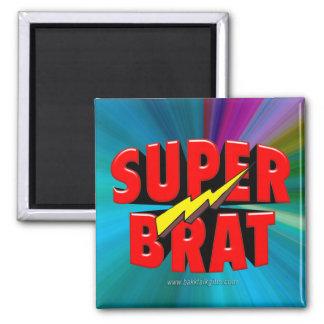 Super Brat Square Magnet