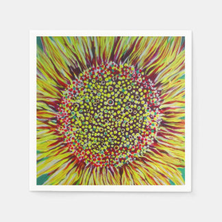 Super Bright Sunflower Cocktail Napkins Disposable Napkin