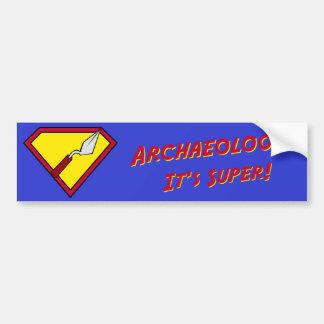 Super! Bumper Sticker