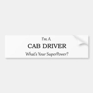 Super Cab Driver Bumper Sticker