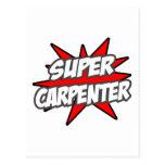 Super Carpenter Postcard