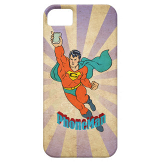 Super Cell Phone Man Case For The iPhone 5