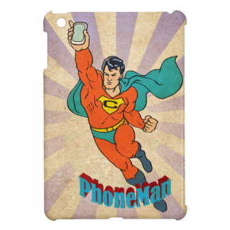 Super Cell Phone Man Cover For The iPad Mini