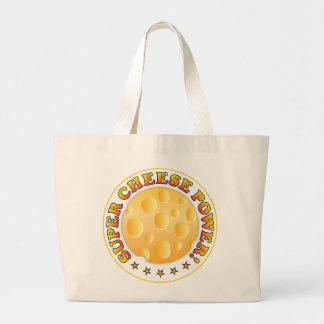 Super Cheese Power Tote Bags