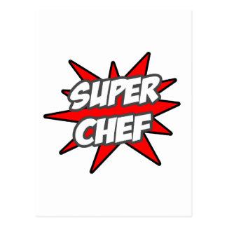 Super Chef Postcard