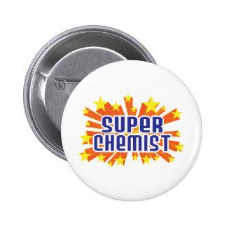 Super Chemist 6 Cm Round Badge