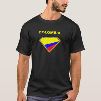 Super Colombia colors in Gold Diamond T-Shirt