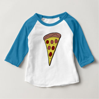 Super Color Pizza Boy Baby T-Shirt