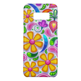 Super Colorful Flower Pattern Case-Mate Samsung Galaxy S8 Case