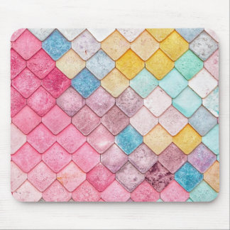 Super Colorful Tile Pattern Mouse Mat
