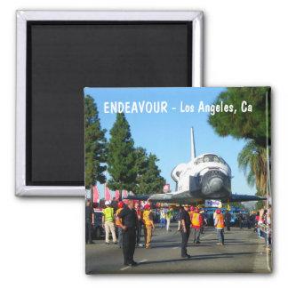 Super Cool Los Angeles/Endeavour Magnet! Square Magnet