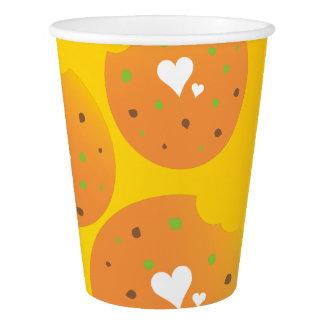 Super cool Love food paper cup design
