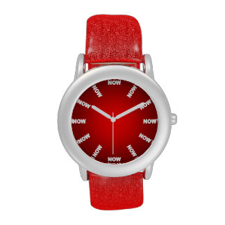"""Super Cool """"NOW""""  Watch (Red) No2"""