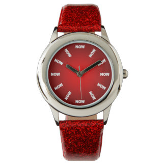 "Super Cool ""NOW""  Watch (Red) No2"