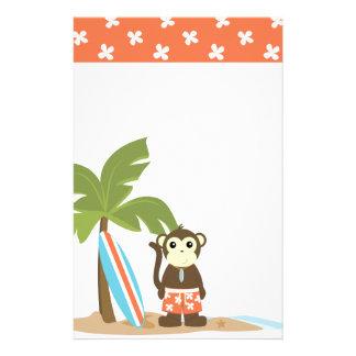 Super Cool Surf Monkey Stationery