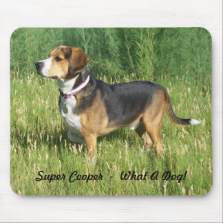 Super Cooper Beagle Mouse Pad