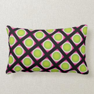 Super creative stylish crazy dot patterns lumbar cushion