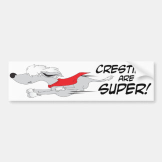 Super Crestie Bumper Sticker
