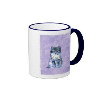Super Cut Cat Mug
