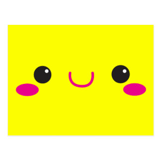 Super Cute anime Kawaii cutie face! NP Postcard