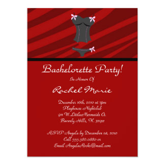 Super Cute Bachelorette Party Card