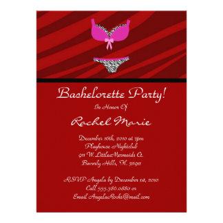 Super Cute Bachelorette Party Custom Invites