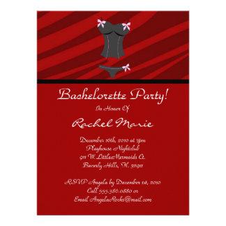 Super Cute Bachelorette Party Personalized Announcements