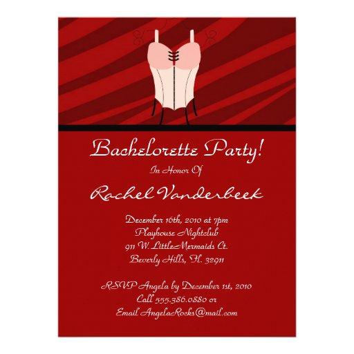 Super Cute Bachelorette Party Announcement