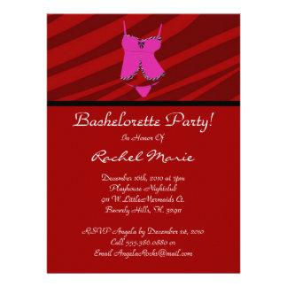 Super Cute Bachelorette Party Custom Invitation