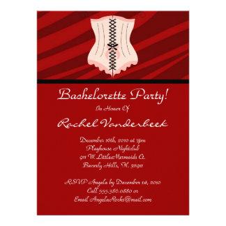 Super Cute Bachelorette Party Custom Invitations