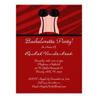 Super Cute Bachelorette Party Custom Invite