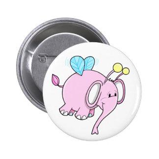 Super Cute Bumble Elephant Fairy Button