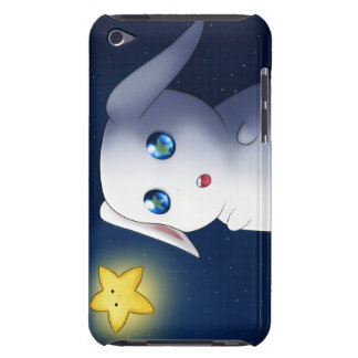 Super cute bunny rabbit catching stars Case-Mate iPod touch case