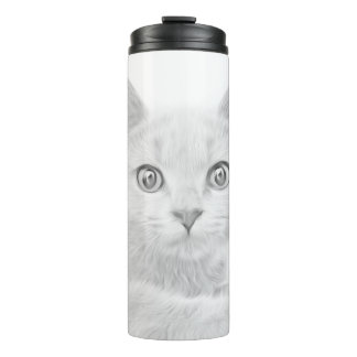 SUPER CUTE Cat Portrait Thermal Tumbler